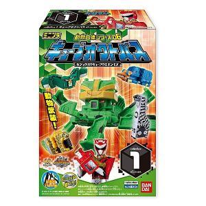 動物戦隊ジュウオウジャー ミニプラ 動物合体シリーズ06 キューブオクトパス&ジュウオウキューブウエポンEX 全5種セット|toyshopside3