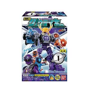 宇宙戦隊キュウレンジャー ミニプラ キュータマ合体シリーズ03 リュウテイオー 全5種セット|toyshopside3