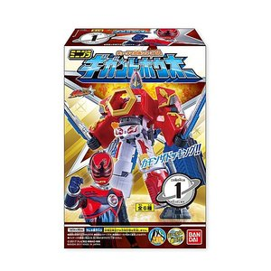 宇宙戦隊キュウレンジャー ミニプラ キュータマ合体シリーズ04 ギガントホウオー 全6種セット|toyshopside3