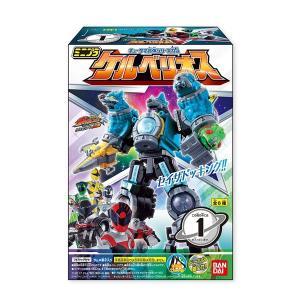 宇宙戦隊キュウレンジャー ミニプラ キュータマ合体シリーズ05 ケルベリオス 全6種セット|toyshopside3
