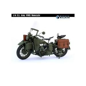 ZY-TOYS 1/6 WWII U.Sアーミー モーターサイクル (ZY-8037) *送料無料|toyshopside3