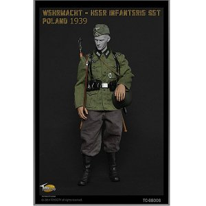 Toyscity 1/6 WWII ドイツ軍歩兵(歩兵) ポーランド1939 コスチューム&アクセサリーセット (TC-680006)|toyshopside3