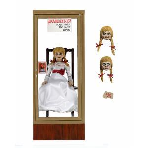 アナベル 死霊博物館 アナベル with ショーケース アルティメット 7インチ アクションフィギュア toyshopside3