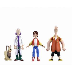 バック・トゥ・ザ・フューチャー カートゥーン クラシック 6インチ アクションフィギュア 3種セット ・2020年9月発売予定 予約|toyshopside3