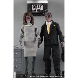 ゼイリブ ヒューマノイド エイリアン 8インチ アクションドール 2PK ・2019年7〜9月発売予定 予約|toyshopside3