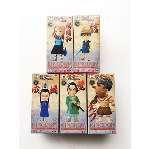 キングダム ワールドコレクタブルフィギュア Vol.2 全5種セット|toyshopside3