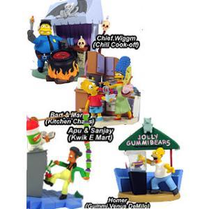 ジェントルジャイアント シンプソンズ バストアップス シリーズ2〜Food Fun / 全4種セット|toyshopside3