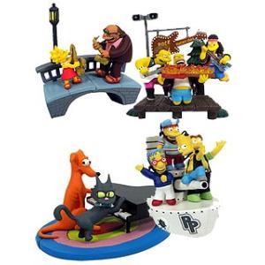 ジェントルジャイアント シンプソンズ バストアップス シリーズ3〜Springfield Rocks / 全4種セット|toyshopside3