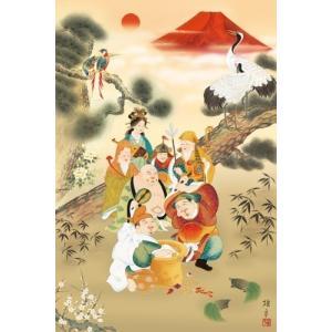 1000ピース 吉祥七福満願図(1000-679) [アップルワン]|toyskameta