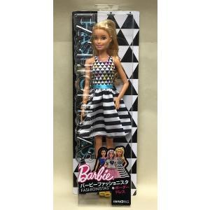 b1f631e311f4c Barbie バービー ファッショニスタ ボーダードレス(DVX68)  マテル |toyskameta ...