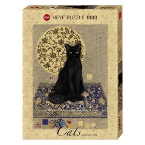 HEYE PUZZLE  29719 1000ピース Jane Crowther : Black Cat(ジェーン・クラウザー:ブラックキャット) [ヘイパズル]|toyskameta