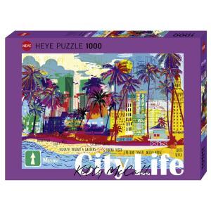 HEYE PUZZLE  29802 1000ピース Kitty McCall : I love Miami!(キティー・マッコール:アイラブマイアミ) [ヘイパズル]|toyskameta