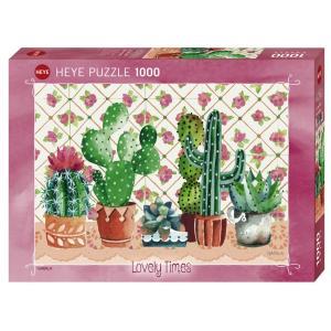 HEYE PUZZLE  29831 1000ピース Gabila : Cactus Family [ヘイパズル]|toyskameta