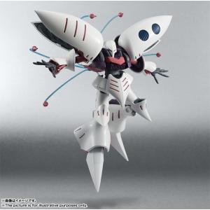 肩のフレキシブル・バインダーは独立して可動し、様々な飛行シーンの形態に対応! 前腕部のビーム・サーベ...