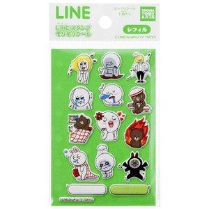 LINE CHARACTER スタンプもりもりシールVol.2|toysmkt