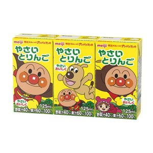 明治 それいけ!アンパンマンのやさいとりんご ...の関連商品9