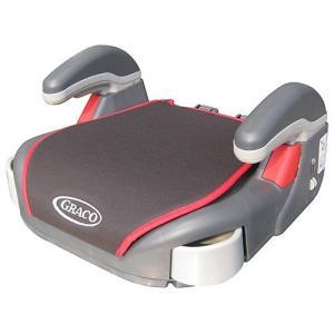 あると便利な「きみだけの秘密のポケットつき」収納式カップホルダー付きのブースター。車のシートベルトの...