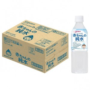 和光堂 ベビーのじかん 赤ちゃんの純水 500ml×24本入り(ケース)