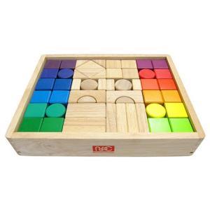 12カラーズブロックス 50ピース【送料無料】|toysrus-babierus