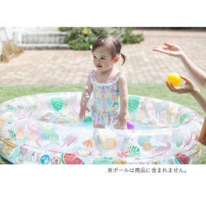夏の水遊びに欠かせない!幼児用のオープンプールです。ふくらませるだけで、おうちにプールができちゃうよ...