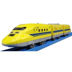 メカボックスが新しくなって更に遊びやすくなりました。商品は新幹線の電気軌道検束車923形ドクターイエ...