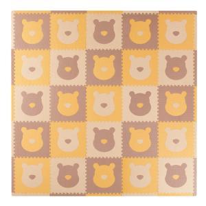 【クリアランス】トイザらス限定 プーさん ジョイントマット フチ付き25枚|toysrus-babierus