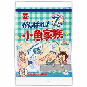 岩塚製菓のベビーせんべいは、国産の原料のみを使用しております。「がんばれ!小魚家族」は国産米100%...