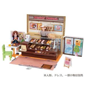 ミスタードーナツショップにリアルなドーナツ小物が36個も入って新登場です!ドーナツをショーケースにな...