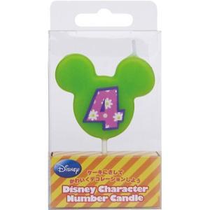 ディズニー ナンバーキャンドル 4の商品画像
