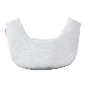 ベビーキャリアOneの上部を赤ちゃんの食べこぼしや、よだれから守ります。ソフトで通気性のよい素材は、...