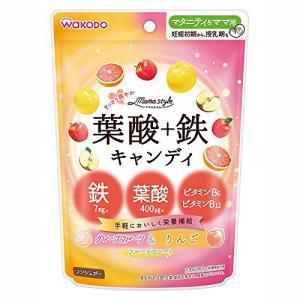 葉酸・鉄・ビタミンB6・ビタミンB12を配合したキャンディです。1日2粒で妊娠初期の必要分が補えます...
