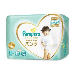 パンパース はじめての肌へのいちばん パンツ Lサイズ 34...