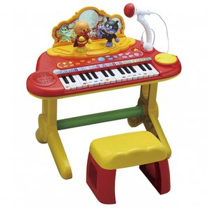 キラキラ輝くイルミネーションでショーアップ!アンパンマンマーチなど盛りだくさんのデモ曲17曲!鍵盤が...