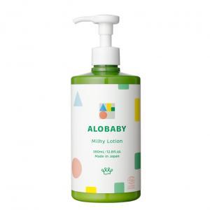 アロベビー ミルクローション ビッグボトル 380mlの商品画像|ナビ