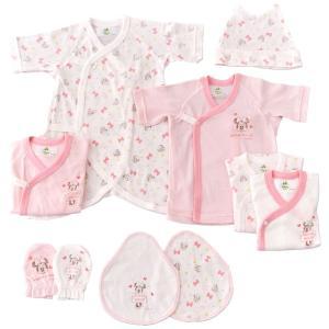 ベビーザらス限定 新生児肌着10点セット ディズニーミニー(ピンク×50ー60cm)
