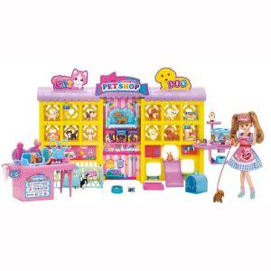 【オンライン限定価格】リカちゃんハウス わんにゃんトリマー にぎやかペットショップ|toysrus-babierus