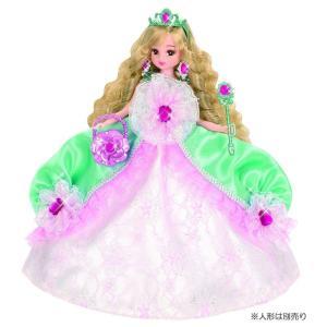 リカちゃんドレス ゆめみるお姫さま エメラルドフラワードレス|toysrus-babierus