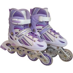 トイザらス限定 インラインスケート トゥインクル パープルL(21〜23cm)