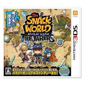 【3DSソフト】スナックワールド  トレジャラーズ【クリアランス】|toysrus-babierus
