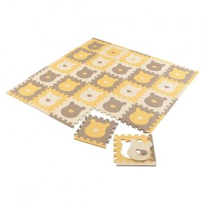 ベビーザらス限定 ジョイントマット プレミアム25枚 ふち付き プーサンカフェ toysrus-babierus