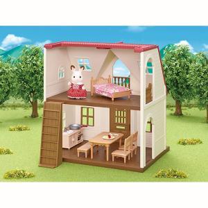 初めてシルバニアファミリーを購入される方におすすめのハウス・人形(ショコラウサギの女の子)・家具がセ...