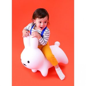 ミッフィー ブルーナ  ボンボン (ホワイト)|toysrus-babierus