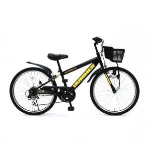 トイザらス限定 24インチ 子供用自転車 ハマー ジュニアCTB246-TZ(ブラック)の商品画像|ナビ