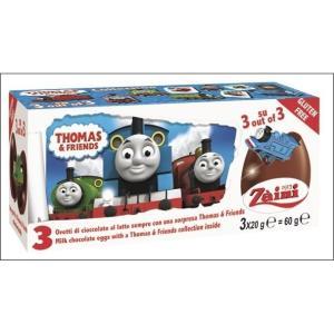 ・トーマスのチョコレートエッグが3つ入っています。・卵型のチョコを割ると中からキャラクターのおまけ入...