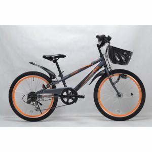トイザらス AVIGO 22インチ 子供用自転車 サベージ CIデッキ オートライト(ブラック/オレンジ)|toysrus-babierus