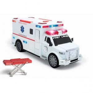 トイザらス ファストレーン 担架で救出!ライト&サウンド救急車 toysrus-babierus