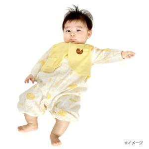 20072193209c9 ベビーザらス限定 ディズニー ベスト付き新生児ドレス くまのプーさん 50-70cm イエロー