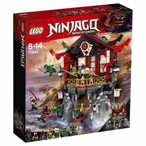 【オンライン限定価格】レゴ ニンジャゴー 70643 復活の神殿【送料無料】