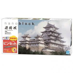 トイザらス限定 nanoblock(ナノブロック)姫路城 デラックスエディション(ナノブロック専用ピ...