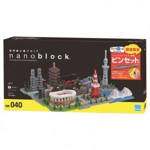 トイザらス限定 nanoblock(ナノブロック)東京(ナノブロック専用ピンセット付)